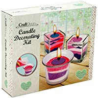 Grafix Create Your Own Candle Making Craft Wax Kit by Craft Deco