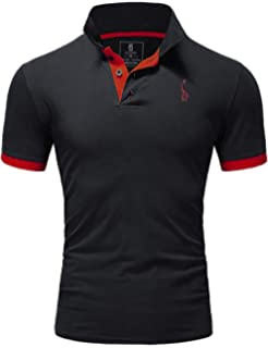 Men Long Sleeve Polo Shirt Size S M L Xl XXl New Standard Neck Classic Uniform