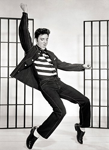 PERFECT POSTERS A4 'Elvis Presley' Jailhouse Rock, Poster Print, DISPATCHED Within 24 Hours 1ST Class - Jailhouse Rock Poster