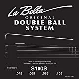 LaBella S100L Double Ball Light Bass Guitar Strings Set 45/105