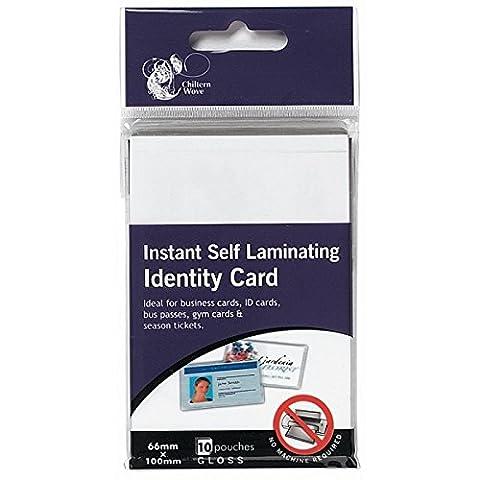 20instantané à plastifier Carte d'identité/Lot de 2paquets de