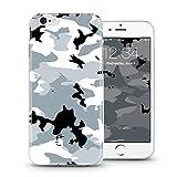 Casetic | iPhone 5, 5S Schutzhülle Camouflage TPU Hülle Cover Handyhülle Bumper leichte Handytasche Hülle mit Foto Silikon Case Hüllen sorgen für kratzfesten Schutz (iPhone 5, 5S, Camouflage)