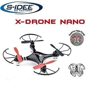01162 s-idee | H107 Quadcopter 4.5 Channel 2.4Ghz Quadrocopter RC control remoto helicóptero / helicóptero / helicóptero con giroscopio TECNOLOGÍA TECNOLOGÍA 2,4Ghz !!! marca para dentro y fuera de la incorporación de kebab y 2,4 GHz de control! Listo para volar!