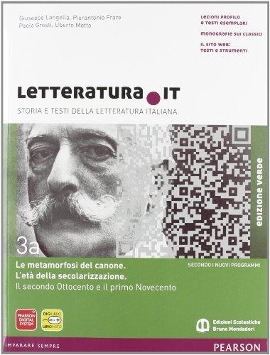Letteratura.it. Ediz. verde. Per le Scuole superiori. Con espansione online: 3