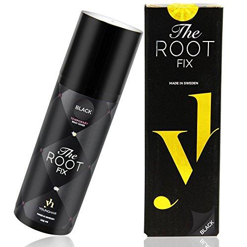 YoungHair The Root Fix Spray für graue Haare abzudecken,Ansatz kaschieren, Wrauhaarabdeckung Auswaschbares Ansatzkaschierspray,Vorübergehende Farbe,Touch Up Cover Concealer Haarspray 125 ml ()