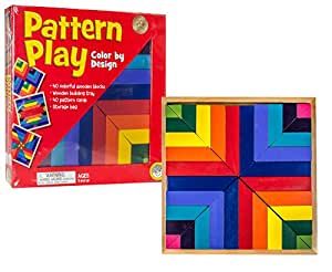 Mindware Pattern Play, Multi Color