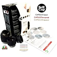 400 CAPSULE CARICABILI SELF CAP PER LAVAZZA A MODO MIO ( No ai caffè industriali..il caffè lo comperi e lo metti tu..)