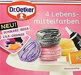 Dr. Oetker 4 Lebensmittelfarben, 8er Pack (8 x 40 g)
