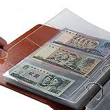 Lsgepavilion Lot de 10 Pochettes de Rangement pour Billets de Banque 3 emplacements, Couleur 1#, Taille Unique...