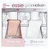 Essie Essie Nail Polish Gel Couture Hochzeit Kit Mani Duo Geschenk-Set für Ihre X