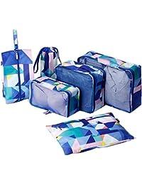 Hanging Travel Toiletry Bag - WantGor Premium Portable Folding Wash Bag  with Hook Waterproof Make Up 0372eb891f4ea