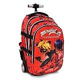 Karactermania - Zaino Trolley Ladybug, Colore Rosso, 48 cm, 35526