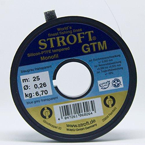 Angelsport Vorfächer & Vorfachschnüre Stroft GTM 0.29mm 25m