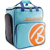 BRUBAKER 'Super Champion 2.0' Bolso Para Deporte - Mochila Porta Botas De Esquí - La luz azul / Naranja