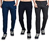 #9: White Moon Men's Stylish Slim Fit Jogger Lower Track Pants for Gym, Running, Athletic, Casual Wear Joggers Combo Pack of 3 for Men