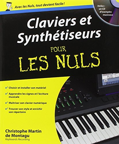 Claviers et synth??tiseurs pour Les Nuls (1CD audio) by Christophe Martin de Montagu (2005-11-01)