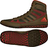 adidas Herren Mat Wizard David Taylor Edition Wrestling Schuhe, (Olive Green Orange), 40 EU M
