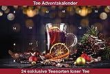 Grüner Tee Adventskalender 2018, Grüne- weiße- gelbe- und Oolong Tees für 24 mal besten Tee Genuss
