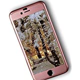 iPAKY 360 Degree All-round Protective Slim Fit Case Cover for Apple iPhone 6/6S Plus (Rose Gold) - 5.5Ó + Tempered Glass Screen Protector