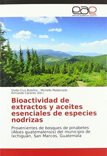 Bioactividad de extractos y aceites esenciales de especies nodrizas: Provenientes de bosques de pinabetes (Abies guatemalensis) del municipio de Ixchiguán, San Marcos, Guatemala