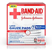 Band-Aid First Aid Large Gauze Pads, 4 In X 4 In, 25 Count by Band-Aid preisvergleich bei billige-tabletten.eu