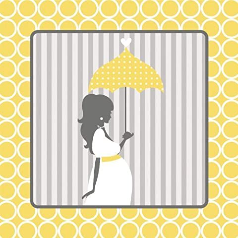Mod Baby Shower Luncheon Napkin by Paper Art