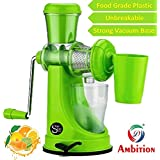 Fruit And Vegetable Juicer With Steel Handle And Waste Collector (Multicolor)-2