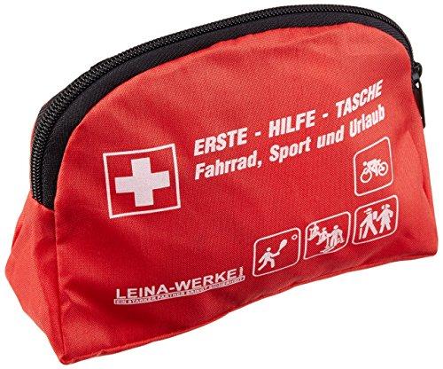 LEINA-WERKE 50006 Freizeit-Tasche, Rot, 165 x 60 x 125mm