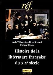 Histoire de la littérature française du XIXe siècle
