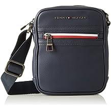 Tommy Hilfiger Essential Mini Reporter Ii, Bolso Bandolera para Hombre, Azul (Tommy Navy), 5x20x16 cm (W x H x L)