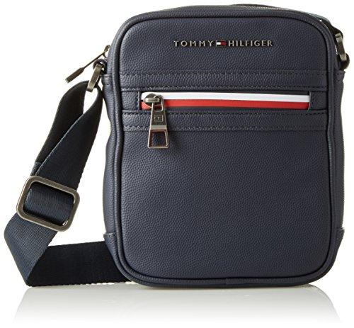 Tommy Hilfiger 2 Tasche (Tommy Hilfiger Herren Essential Mini Reporter Ii Laptop Tasche, Blau (Tommy Navy), 9x30x40 cm)