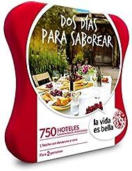 LA VIDA ES BELLA - Caja Regalo - DOS DÍAS PARA SABOREAR - 750 hoteles casas rurales, hospederías