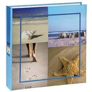"Hama Memoalbum ""Sea Shells"", für 200 Fotos in Format 10x15 cm, blau"