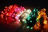 Diwali Lights | Rice Lights Ladi of Multi Color Serial bulbs | SIZE 4-5 m | SET of 5 | Copper Wire | CCC Brand