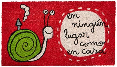 Laroom Felpudo, Vinilo, Rojo