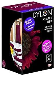 dylon teinture textile pour machine laver poudre rouge bordeaux cuisine maison. Black Bedroom Furniture Sets. Home Design Ideas