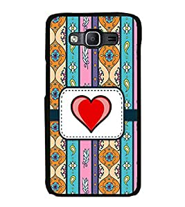 Fiobs Designer Back Case Cover for Samsung Galaxy E5 (2015) :: Samsung Galaxy E5 Duos :: Samsung Galaxy E5 E500F E500H E500Hq E500M E500F/Ds E500H/Ds E500M/Ds (jaipur rajasthan african america cross pattern)