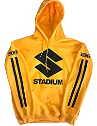 Identity Purpose Tour Stadium Tour Hoodie Yellow New Justin Bieber Merch
