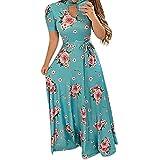 Vestidos Mujer Casual 2019-Ronamick Vestido sin Mangas vestido verano mujer (verde,XL) Mujer Verano 2019