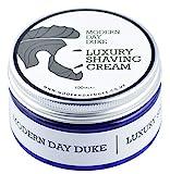 Rasiercreme zur Verringerung der Reizung - Luxuriöse Rasiercreme von Modern Day Duke mit frischem Zitrus & Neroli Duft, die beste Creme, um Rasur, Hautausschlag und Irritation loszuwerden