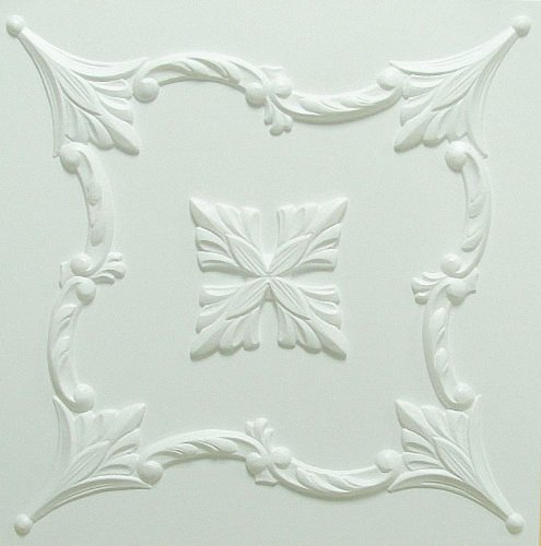 decorative-laminated-polystyrene-ceiling-tiles-panels-flower-white-pack-44-pcs-11-sqm