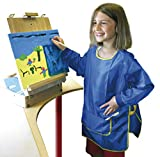 Eduplay Malkittel für Kinder blau, Universalgröße