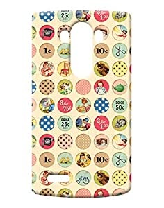 Pick Pattern Back Cover for LG G4