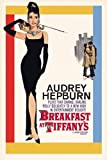 Filmposter, Motiv: Audrey Hepburn in Breakfast at Tiffany 's,  61 x 91,5 cm