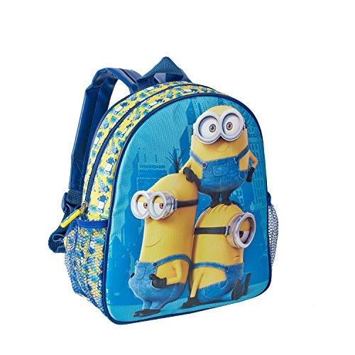Mochila Infantil de los Minions de color azul