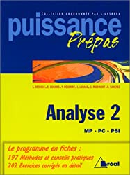 Analyse Tome 2 : Analyse