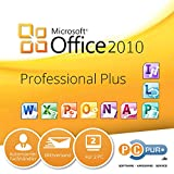 MS Microsoft Office 2010 Professional PLUS für 2PC's + 8GB USB-Flash-Drive mit Installationsdaten 32/64-Bit