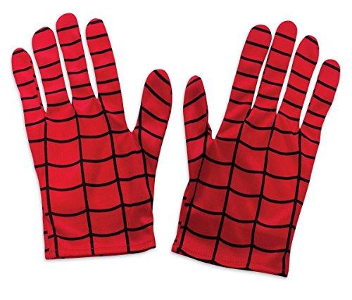 Kostüm Perücke Leia Mit Prinzessin - Rubie's Spider-Man Handschuhe für Erwachsene