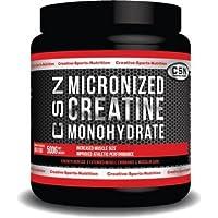 Preisvergleich für CSN CREATINE micronized creatine monohydrate 500GM