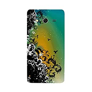 Skintice Designer Back Cover with direct 3D sublimation printing for Samsung Galaxy Core 2